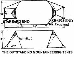 3-Person  sc 1 st  Stephensons Warmlite & Tent Dimensions and Weights u2013 Warmlite