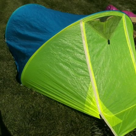 *SPECIAL* Sale 2R Blue/Yellow Tent