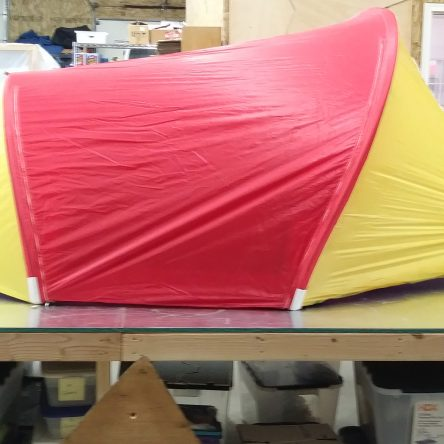 *QUICK SHIP* Climbers Two-Person Red/Yellow Tent