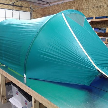 *Quick Ship* 3R Teal Top and Yellow Liner Tent