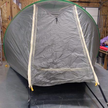 *Quick Ship* 3R Purple & Grey Tent