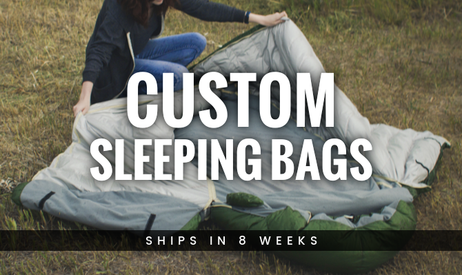 Custom Sleeping Bags from Warmlite Ship in 8 Weeks