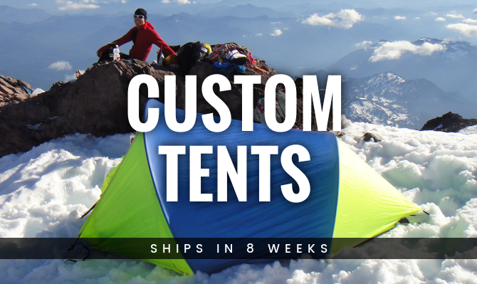Custom Tents from Warmlite Ship in 8 Weeks